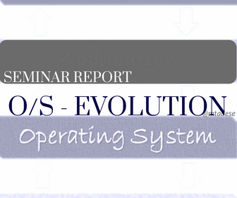 Operating Systems – Evolution – 2012