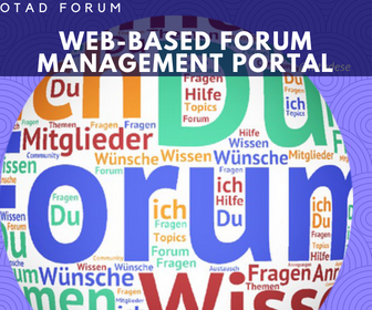 OtadForum Web-Based Portal – 2014