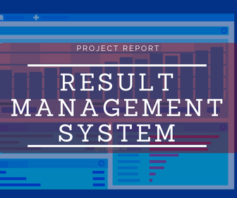 Developing a Result Mgt. System – 2015